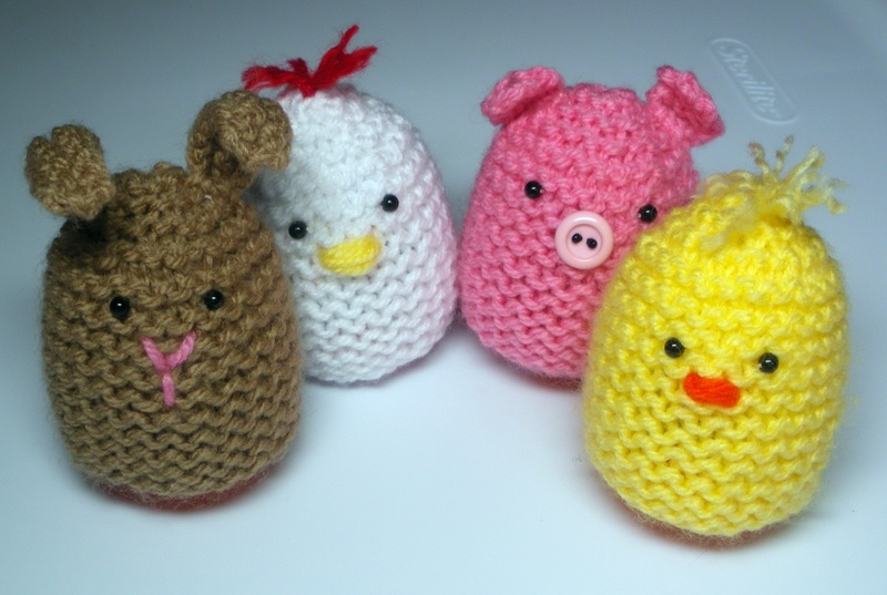Cute Egg Cozies to Knit